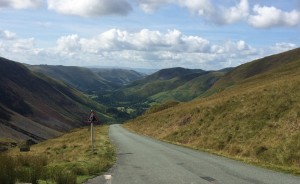 Bwlch y Groes - hardest climb in the UK?  Quite Possibly.