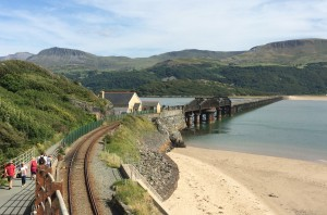 Barmouth Bridge - always a treat to ride across this!