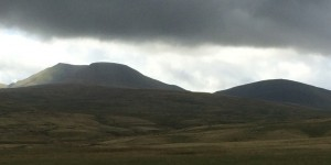 Brecons + Bertha = dark and moody in the mountains.