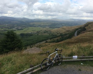 Looking north from the top of Rhigos: NOGARD almost finished: just Sarn Helen to go.