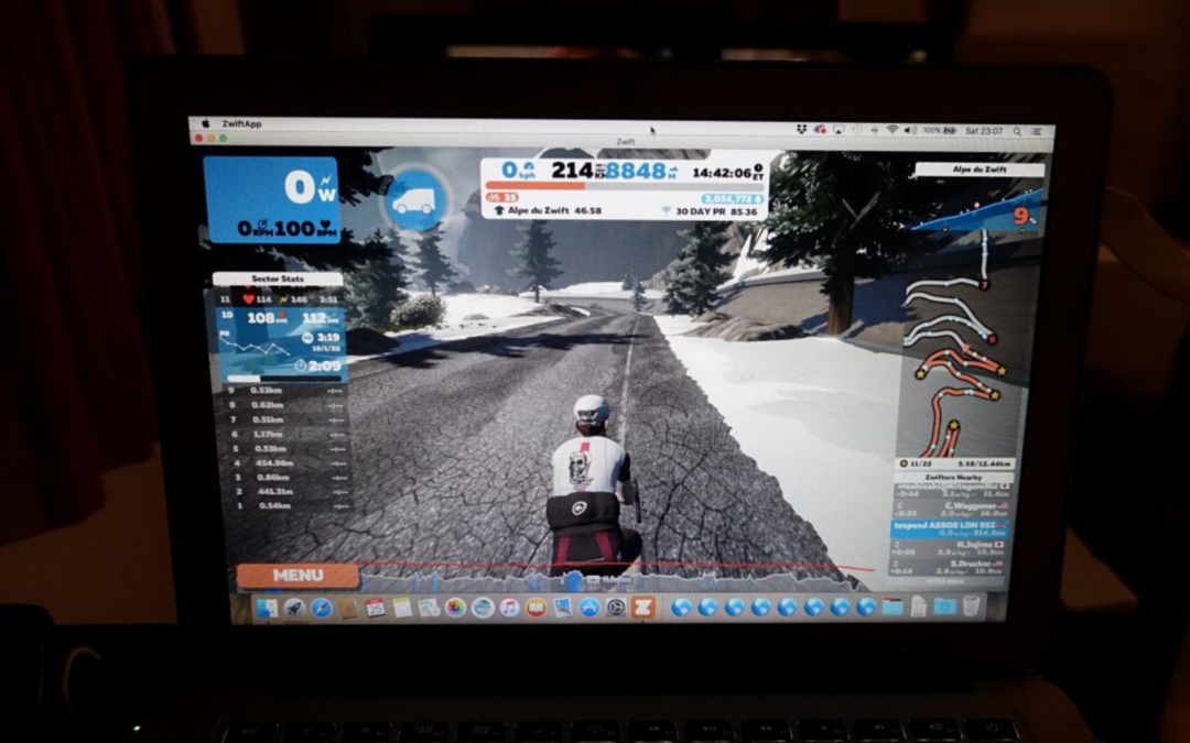 Zwift Virtual vEveresting vs Real Life Everesting: which one's harder?
